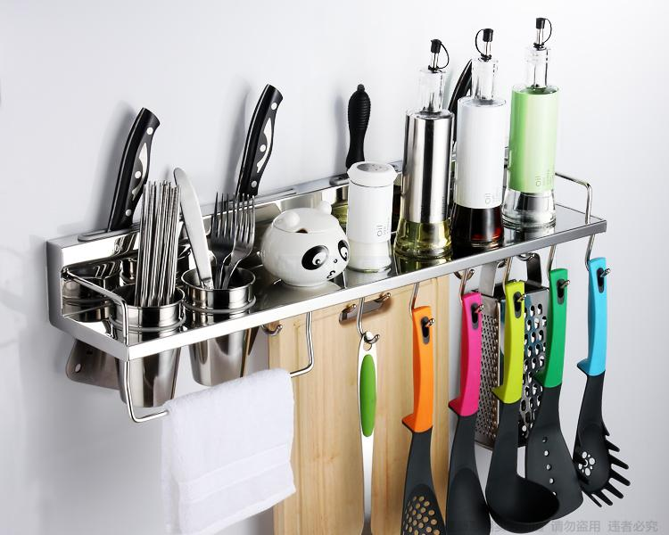 kitchen utensils storage 304 stainless steel kitchen rack kitchen shelf 3427