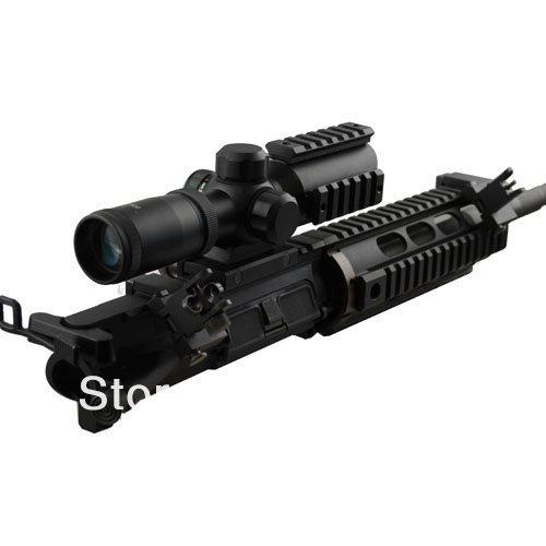 US Tactical BUIS Anteriore e posteriore Vista laterale Flip Up da 45 gradi a rapida escursione Iron Sights of Hunting