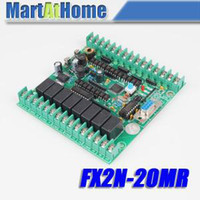 Wholesale Monitor Boards - Free Shipping New PLC Board Microcontroller PLC Industrial Control Panels fx2n-20MR Download   Monitoring   Text #SM540 @CF