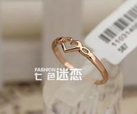 4pcs heart RING best seller Wedding Band Rings , stamped 18KG...