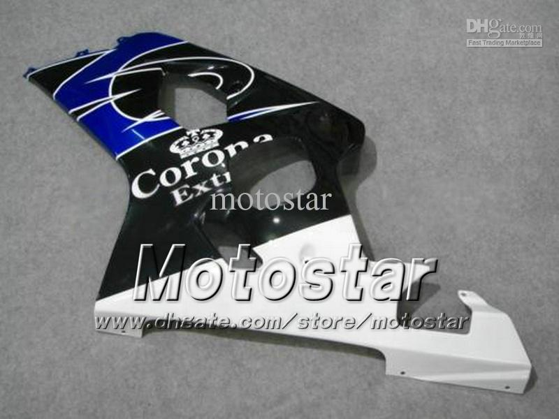 Kit carene SUZUKI GSXR 600750 K4 2004 2005 GSXR600 GSXR750 04 05 R600 Rcarene corona nero blu ee18