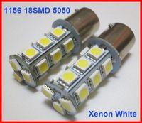 audi a4 xenon lights h7 achat en gros de-120 pcs 1156 P21W BA15S 18SMD 5050 18-LED Queue Tourner Turn Inverser Feux de Lumière Ampoules Lampes Xenon Blanc pur / Blanc Chaud Peut Mélanger Super Lumineux 12V