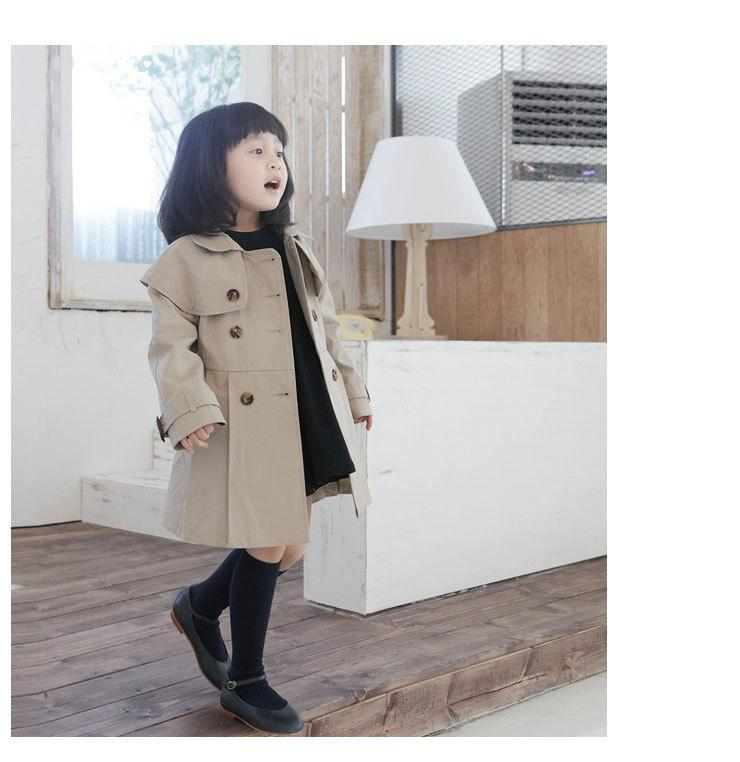 Cheap Fashion Children'S Trench Coat Kids' Wind Coat Girls ...