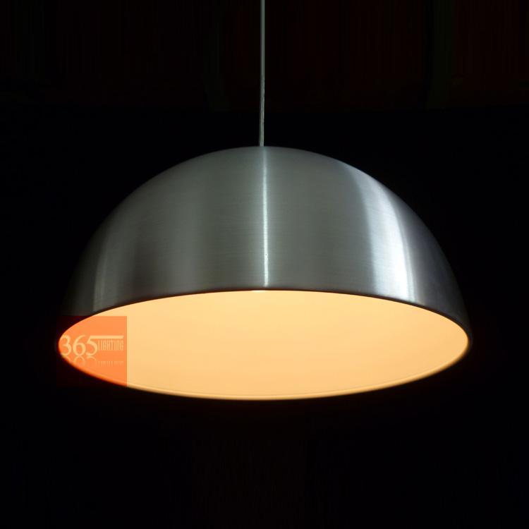 Semi-cercle moderne en aluminium salle à manger plafonnier suspendu Restaurant Restaurant contracté pendentif lampe couloir véranda balcon éclairage