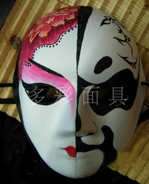 halloween masks craft ideas pulp painted masks white mask 4614
