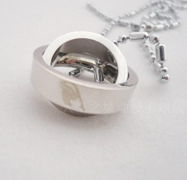 Wholesale wholesale fairy tail silver necklaces charms 2 deck ring wholesale wholesale fairy tail silver necklaces charms 2 deck ring pendants men women jewelry ftn10 charms for bracelets mom pendant necklace from aloadofball Image collections