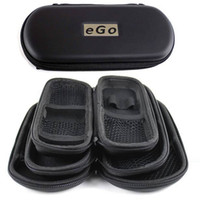 Wholesale Ego Cigarett Cases - High quality EGO Zipper Case Electronic Cigarett Portable case for Atomizer CE4 CE5 CE6 ViVi Nova 900mah 1100mah Battery Black Color