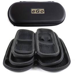 Wholesale Ego Ce6 Case - High quality EGO Zipper Case Electronic Cigarett Portable case for Atomizer CE4 CE5 CE6 ViVi Nova 900mah 1100mah Battery Black Color