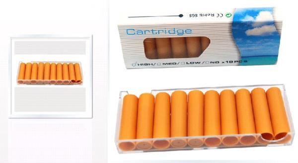 500 Pz Smettere di fumare la cartuccia di sigaretta elettronica Tubo di ricarica per Mini V9 E-sigaretta (o qualsiasi e-cig di diametro diametro 8.5mm) _Ship by EMS
