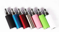 Wholesale Ego C Steel - DHL Colorful Mini 350mah ego battery for ego-t F1 ego-c CE4 protank 1 2 EVOD MT3 T2 coil head stainless steel helio mod electronic cigarette