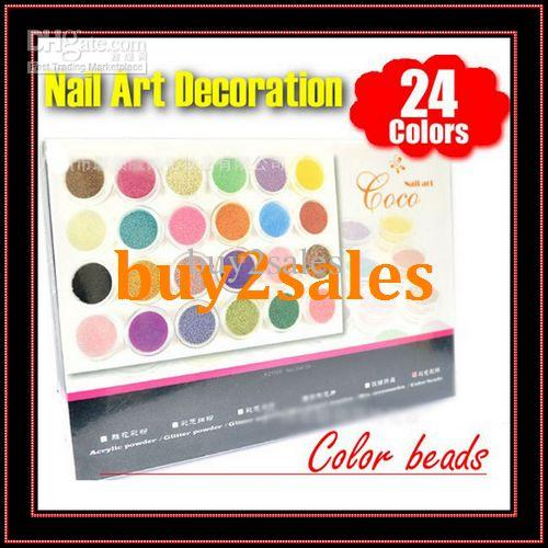 Fashion Caviar Beads For Nail Art Coco Nail Art Decoration Set Nail