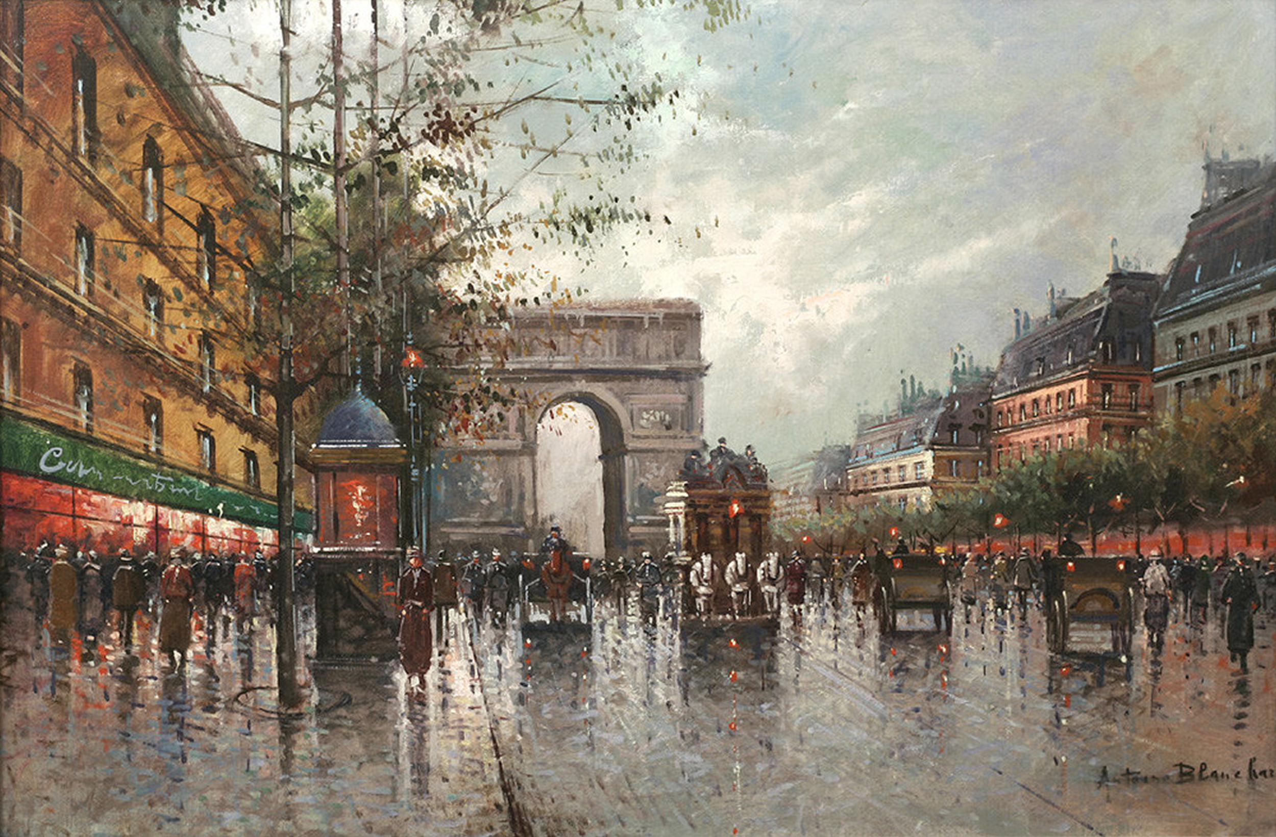 Painting For Sale By Antoine Blanchard