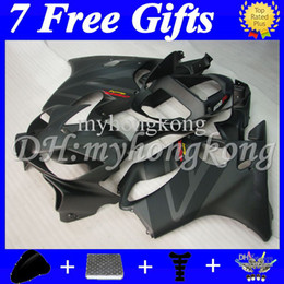 Wholesale Matte Black F4i - Flat Matte black Fairing For HONDA CBR600FS FS 7gifts CBR600 F4i 01 02 03 MY150 CBR600F4i CBR 600 F4i 600F4i 2001 2002 2003 Hot