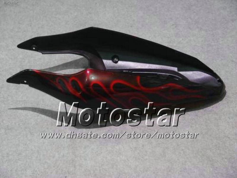 Carenados de motocicleta personalizados con 7gifts para SUZUKI GSXR 1000 K2 2000 2001 2002 GSXR1000 00 01 02 R1000 kit de carenado de llama roja ff93