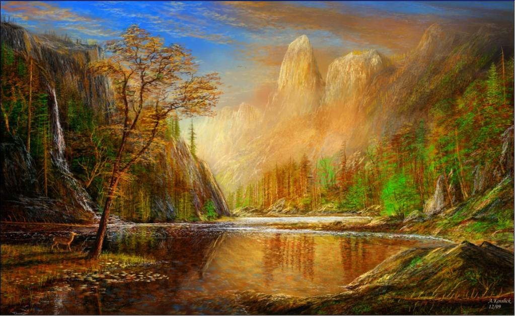 Best Selling Abstract Landscape Paintings