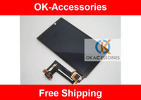 Wholesale Blackberry Parts Lcd - Black Color 100% High Qulity For BlackBerry Z10 LCD Screen Display+Touch Screen Digitizer Assembly Repair Part 1pcs lot free shipping