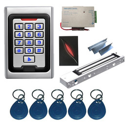 New Complete Proximity Single Door RFID Access Control System Kit от