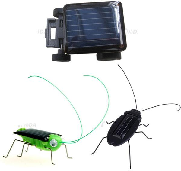 3 designs solar energy mini car locust cockroachsolar powered special toy kids childrens giftsmall activity fun toys