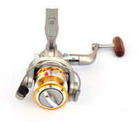 Wholesale Saltwater Trolling Reels - Spinning sea fishing reel Lure fishing reel SG2000A round pole fish spinning reel metal (FR005) free shipping