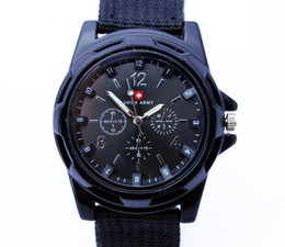 new trendy watches men Canada - 2013 2014 2015 hot sale Luxury Analog new fashion TRENDY SPORT MILITARY STYLE WRIST WATCH for MEN watch,BLACK WHITE,green blue