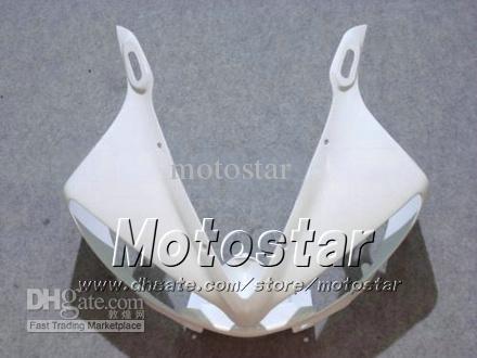 Kit de 7 carénages de carénage pour YAMAHA 2003 2004 YZF-R6 03 04 YZFR6 YZF R6 YZF600 kit carénage blanc brillant gg73