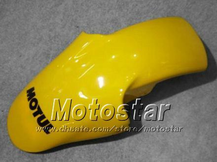 Kit de carenado personalizado gratis para YAMAHA YZF-R6 1998 1999 2000 2001 2002 YZFR6 YZF R6 YZF600 Carenados Motul amarillos set hh1