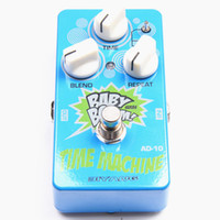 Wholesale Echo Machine - Biyang Baby Boom AD-10 Time Machine Analog Delay Effects Pedal + 2 Patch Cables Combo MU0168