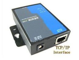 Wholesale Serial Ethernet Tcp Ip - Free Shipping,RS232  485 to TCP IP Ethernet Serial Server Converter Device ,min:1 pcs