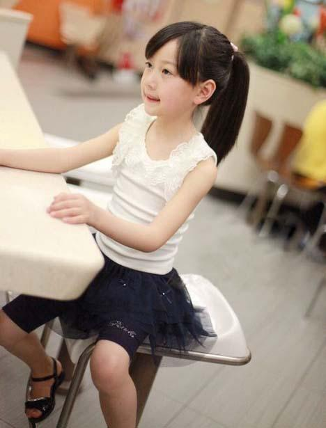 Children Tank Tops Girls Condole Belt Kids Summer Candy Color Casual Vests Sleeveless T Shirt Fashion Lace Princess Tank Tops Child Clothing