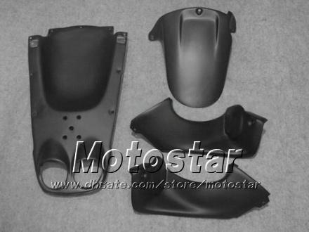 Kit de carénage moto course sur route pour YAMAHA YZF-R6 1998 1999 2000 2001 2002 YZFR6 YZF R6 ensemble carénage noir argent hh13