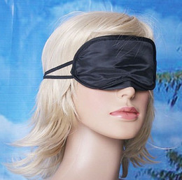 Wholesale EyeShade Sleeping Eye Mask Cover eyepatch blindfolds Travel Rest Health Beauty Vision Care Sleep Masks
