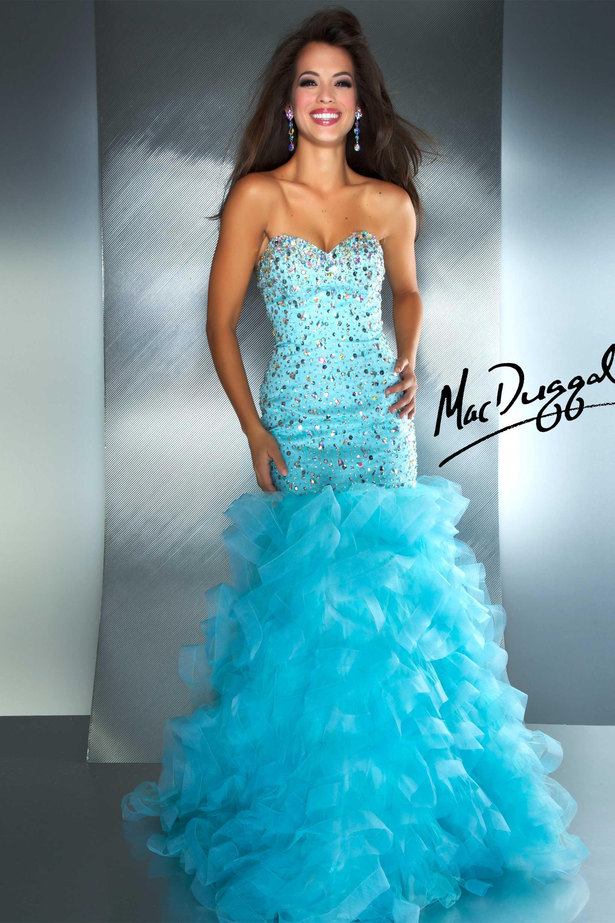 Glittery Starburst Mermaid Sweetheart Floor Length Spark Crystal ...