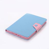 Wholesale Cover Book Leather Ipad Mini - book style Leather case cover for ipad mini Korea style smart cover case for ipad mini