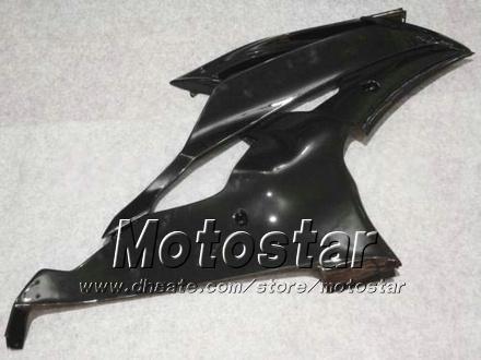 Set di carenatura Yamaha 2008 2009 2010 YZF-R6 08 09 10 YZFR6 08 09 10 YZFR5 08 09 10 YZF R6 YZFR600 Glossy Black Motorcycle Fairings HH56