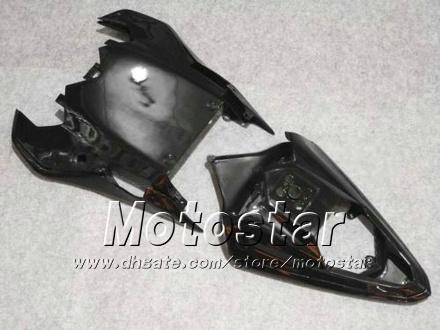 Conjunto para Yamaha 2009 2009 2010 YZF-R6 08 09 10 YZFR6 08 09 10 YZF R6 YZFR600 Glossy Black Motorcycle Fairs HH59