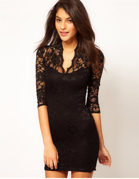 designer lace dresses - Dress Yp