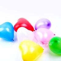 doğum günü kalp balonları toptan satış-Toptan 200 adet Kalp Şekli Balonlar Günler Düğün Doğum Günü Partisi Dekorasyon Malzemeleri + Ücretsiz Kargo