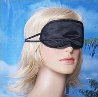 göz kamaştırıcı göz maskesi toptan satış-Toptan Lots5000 Seyahat Yardım Göz Maskesi Uyku Uyku Gölge Kapak Şekerleme Işık Yumuşak Istirahat Körü Körüne
