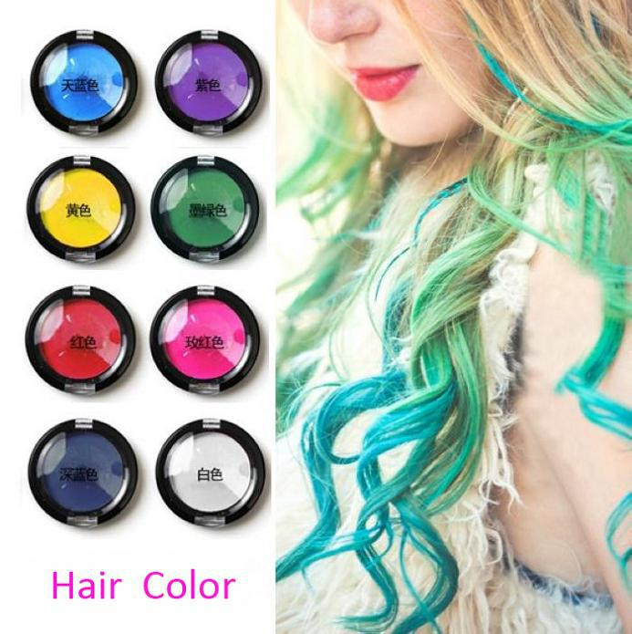 Ombre Temporary Hair Pastel Chalk Bug Rub Eye Shadow Hair Chalk