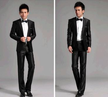 Men'S Clothing Slim Suit Suits Work Wear The Groom Formal Dress ...