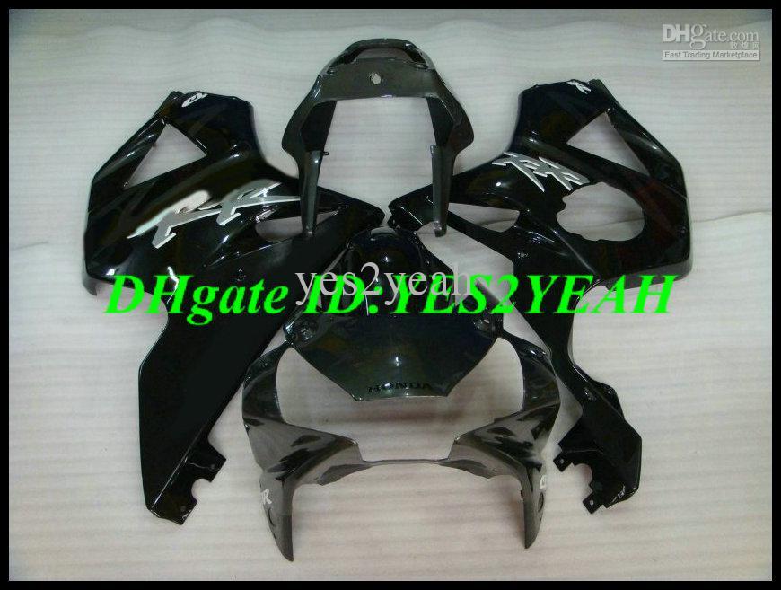 Kit carenatura carrozzeria honda CBR900RR 02 03 CBR900 CBR 900RR 2002 2003 cbr900 954 carenatura ABS nero lucido carrozzeria HIC51