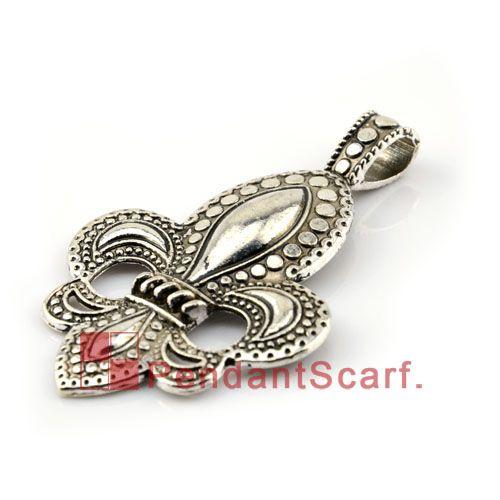 Hot Fashion DIY Jewellery Necklace Scarf Pendant Zinc Alloy Royal Symbol Accessories Charm, AC0114