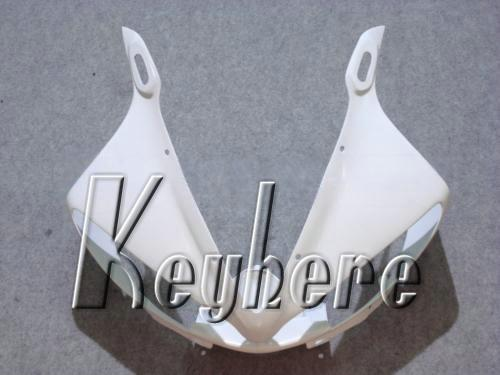 Livre 7 presentes ABS kit de carenagem de plástico para YZF-R6 2003 2004 YZFR6 03 04 YZF R6 carenagens G1e tudo puro branco aftermarket motocicleta corpo trabalho