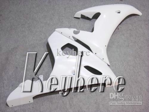 Kit de carénage en plastique ABS gratuit 7 cadeaux pour YZF-R6 2003 2004 YZFR6 03 04 carénages YZF R6 tous les travaux de carrosserie de moto de rechange blanc pur