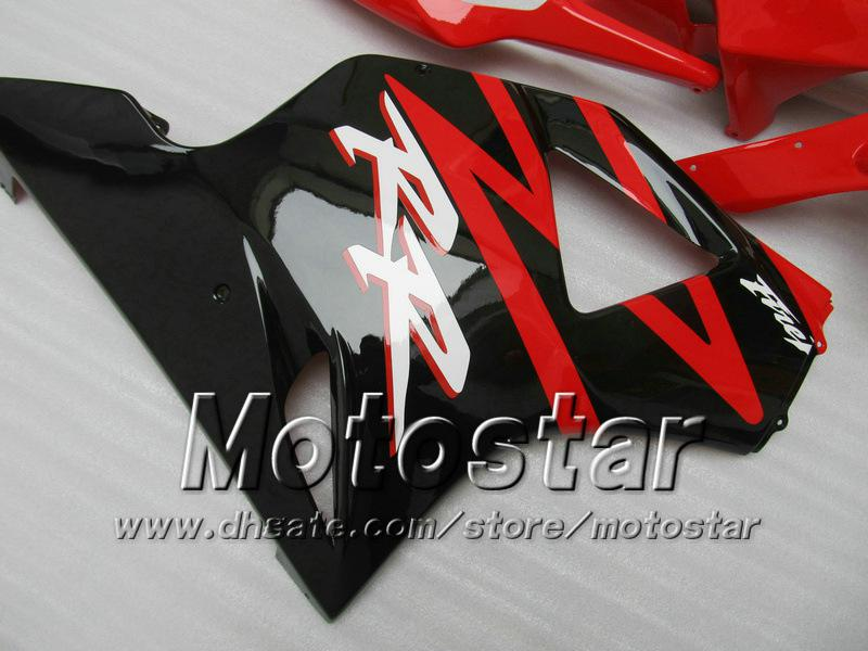 7 Gifts aftermarket fairing for HONDA CBR900RR 954 2002 2003 CBR900 954RR CBR954 02 03 CBR900RR glossy red black custom fairings set jj20