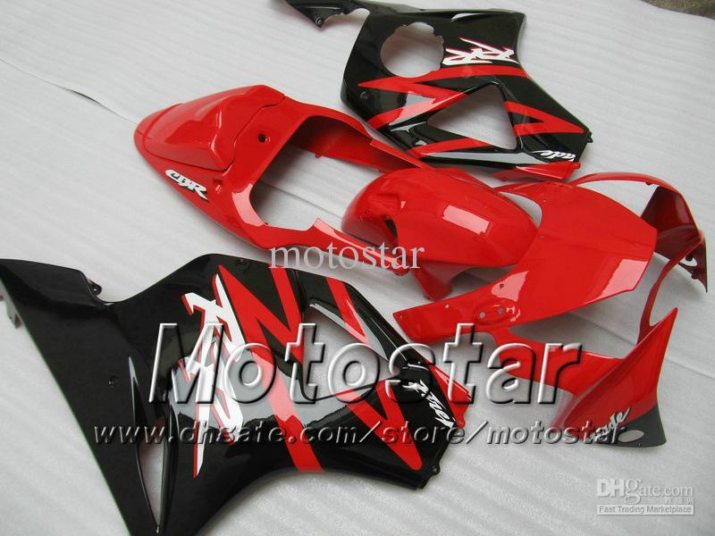 7 Geschenken Aftermarket Fairing for Honda CBR900RR 954 2002 2003 CBR900 954RR CBR954 02 03 CBR900RR Glanzend Rood Zwart Custom Backings Set JJ20
