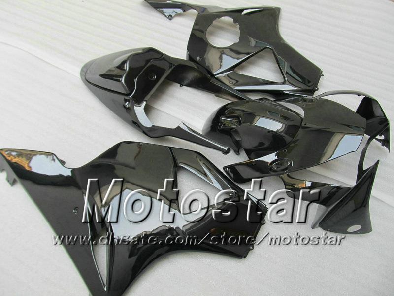 Kits de carenagem pós-venda para HONDA CBR900RR 954 2002 2003 CBR900 954RR CBR954 02 03 CBR900RR carenagem personalizada preto brilhante jj21