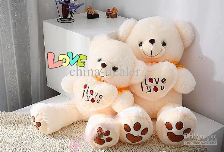 2019 Top Quality Childrens Toy Birthday Gift Lovers Gift Plush Bear Stuffed Animals Plush Bearmiddle Szie82cm Tall From China Dealer 4322