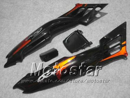 Carrosseriebereiken voor HONDA CBR600 F2 91 92 93 94 CBR600F2 1991 1992 1993 1994 CBR 600 Oranje Rood Zwart Custom Backings JJ39