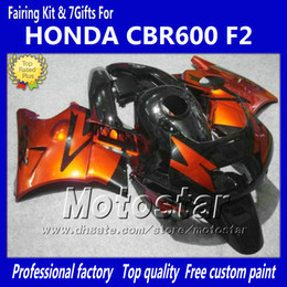 $enCountryForm.capitalKeyWord Canada - Bodywork fairings for HONDA CBR600 F2 91 92 93 94 CBR600F2 1991 1992 1993 1994 CBR 600 orange red black custom fairings jj39
